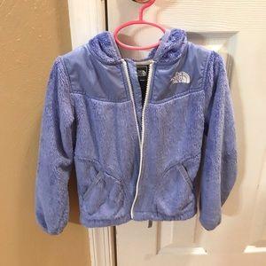 Girl's North Face fleece jacket size XXS/5
